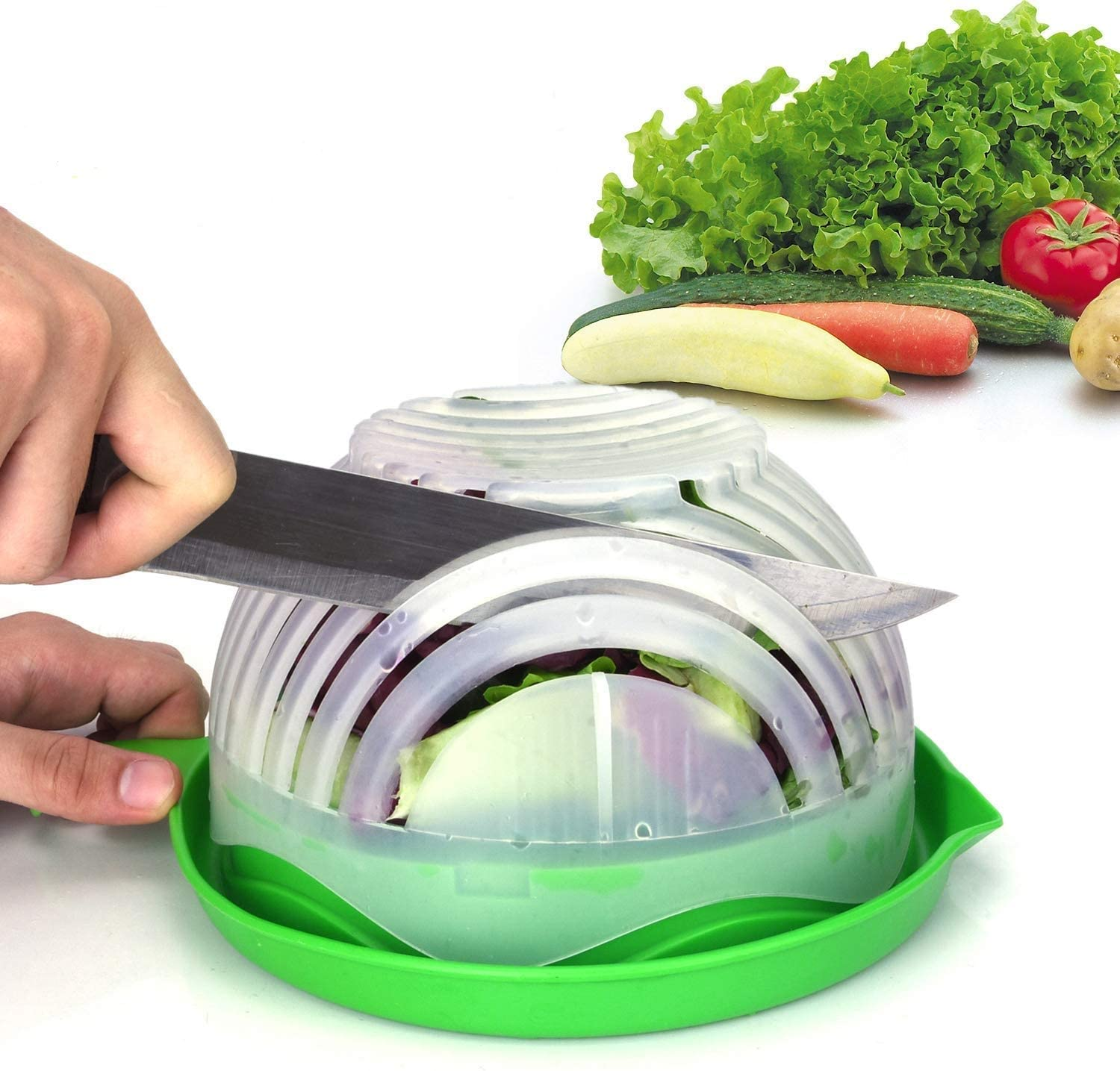 (💥New Year Flash Sale💥-48% OFF)QUICK CHOP SALAD BOWL(Buy 2 get 1 free NOW!)