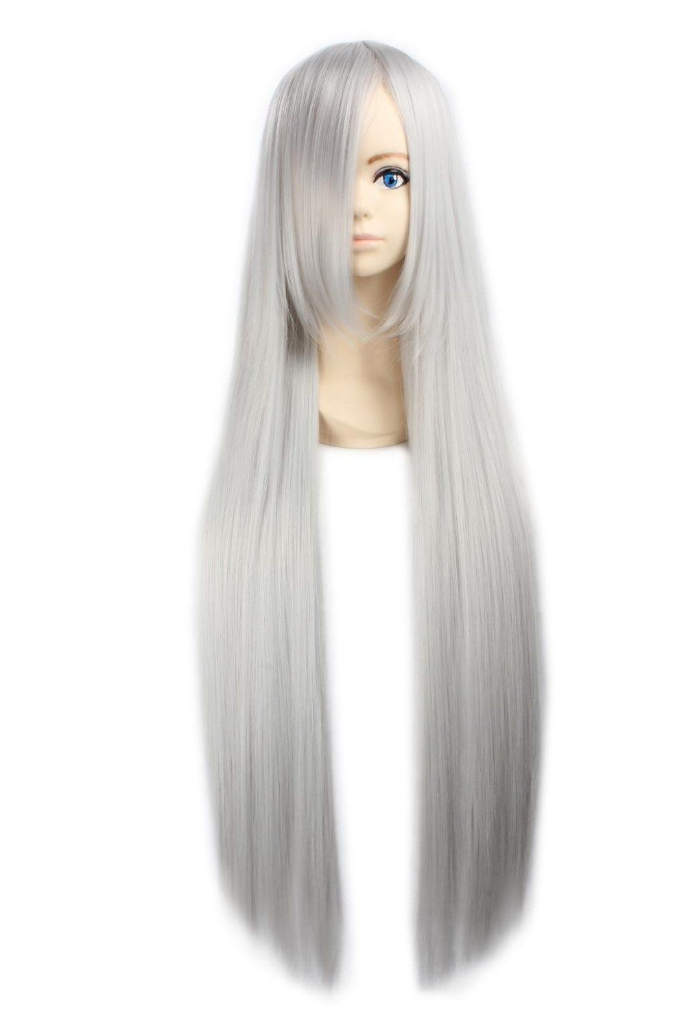 2020 New Gray Hair Wigs For African American Women Cheap Human Hair Wigs For African American Mens Wigs Near Me Eyebrows Turning Grey Big Curly Wigs Fancy Wigs