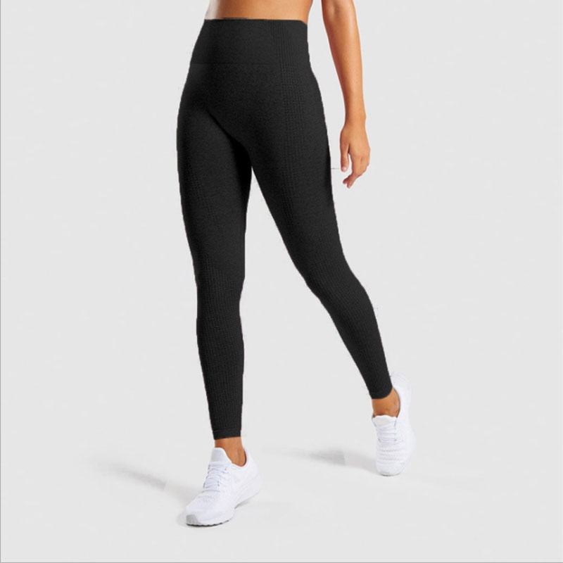 Ladies seamless high waist yoga pants ladies sports tight leggings sexy yoga pants gym outdoor sports pants women's fashion wear 14 colors