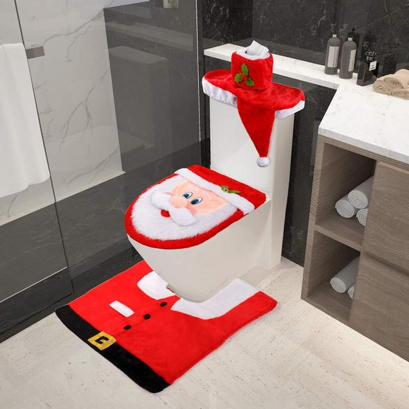 🎅Christmas Toilet Seat Cover Decorations🎅