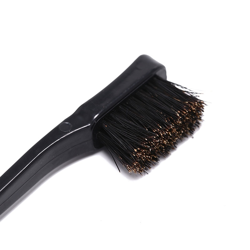 2019 New Fashion 2/6 Pcs Edge Control Brush Double Sided Comb Hair Gel Smooth Natural Look Choose