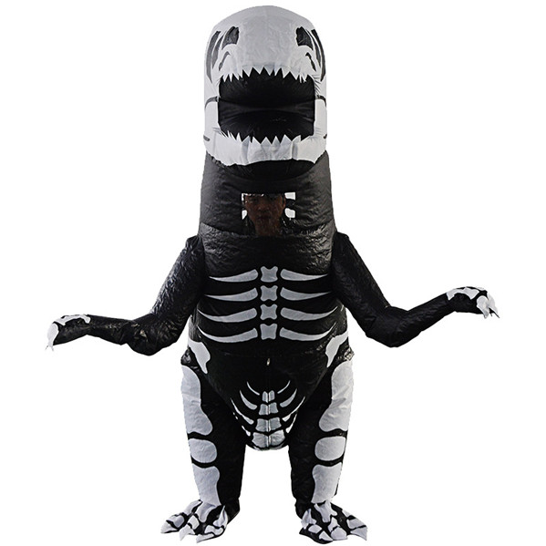 Blow Up Dinosaur Costume Kids & Adults Ralph Rex Halloween Costume