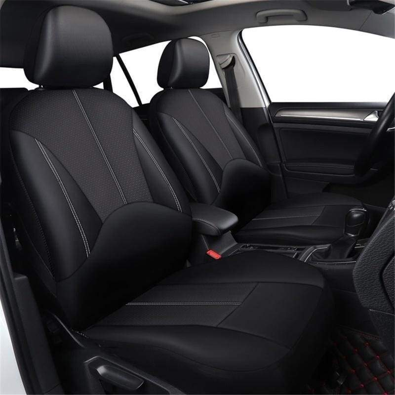 4 Colors 3 StyleUniversal Pu Leather Car Seat Cover Artificial Leather Four Seasons Universal Cushion