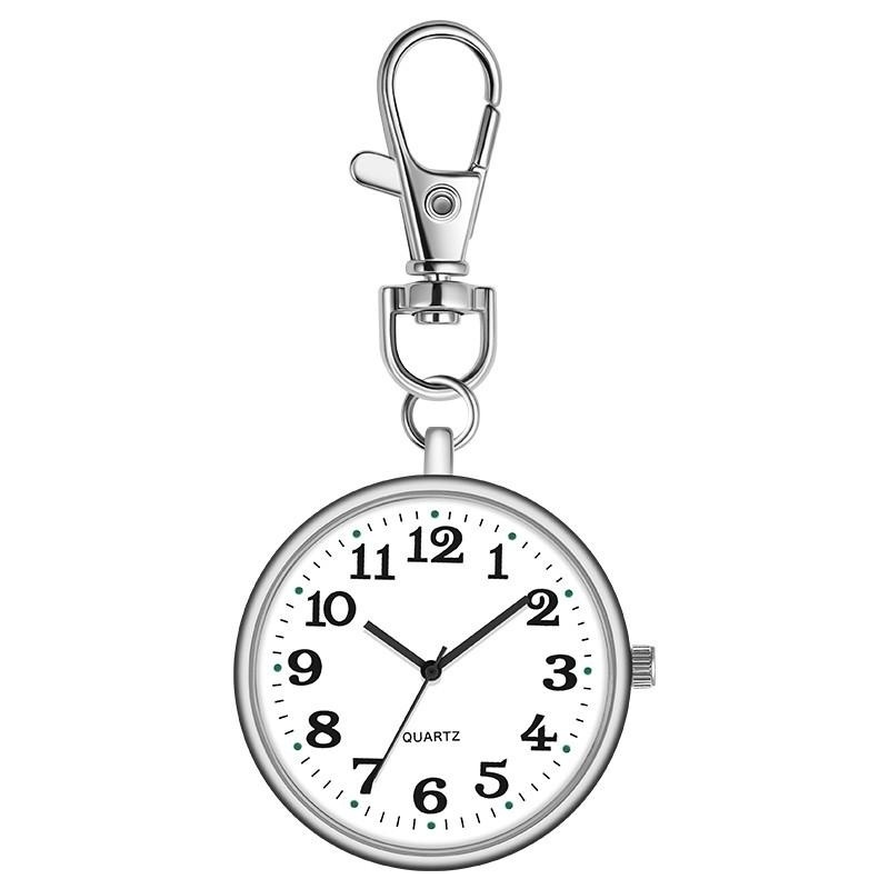 Mini Retro Pocket Watch Old Man Student Keychain Watch Nurse Watch Portable Pocket Watch