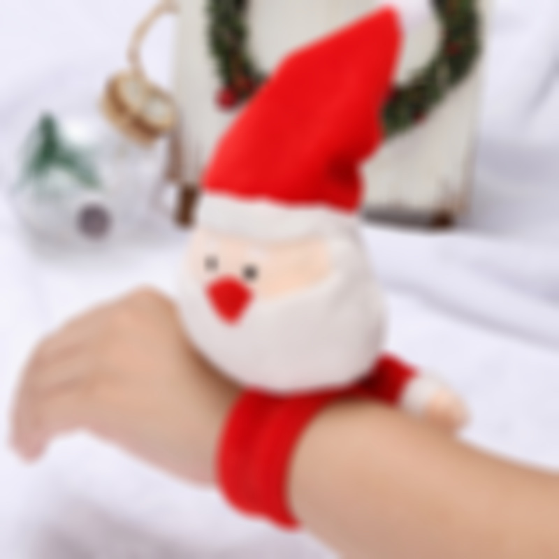 Chrismas Patted Circle Christmas Bracelet Gifts