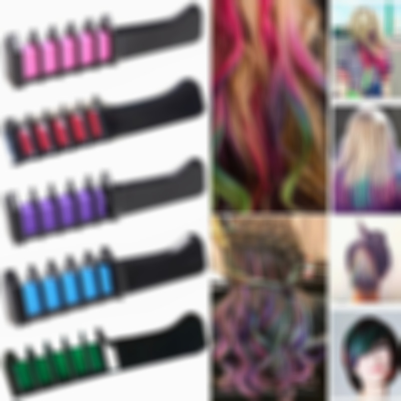 Disposable Hair Color Hair Dye Comb