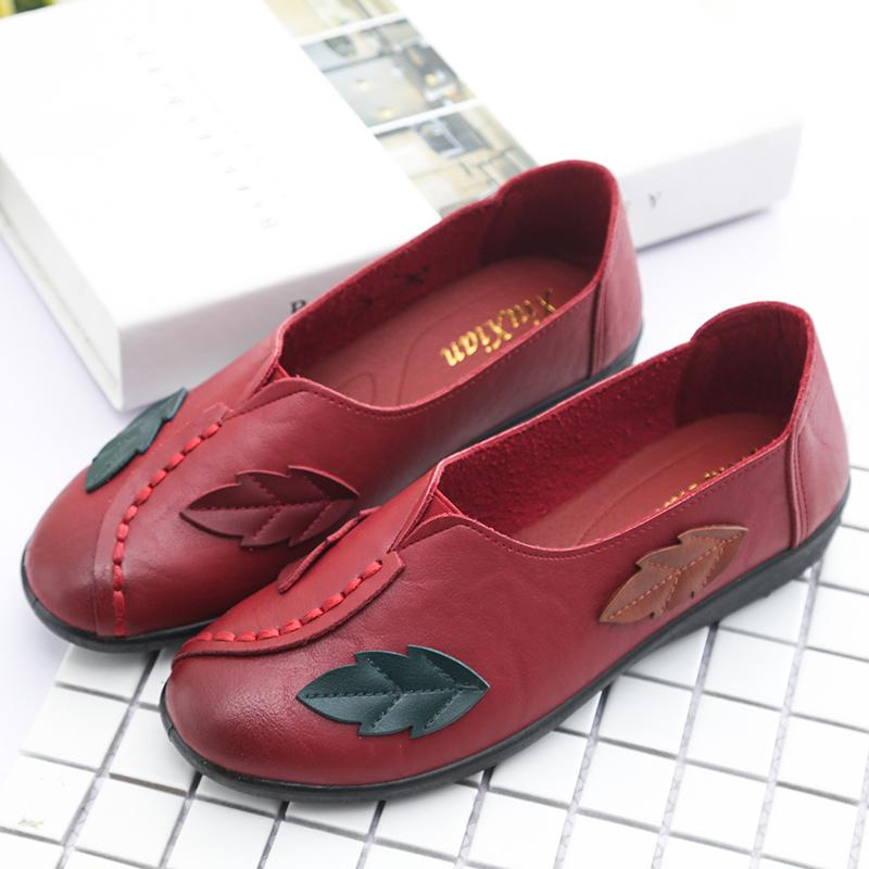 National style soft-sole anti-skid shoes