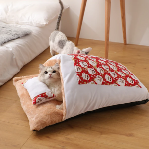 Movable winter warm cat house small pet bed