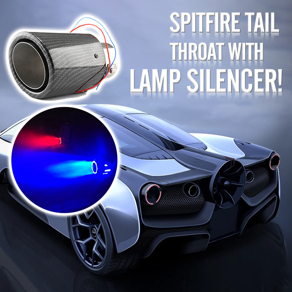Super Cool Exhaust Lamp - Make Your Car More Cool