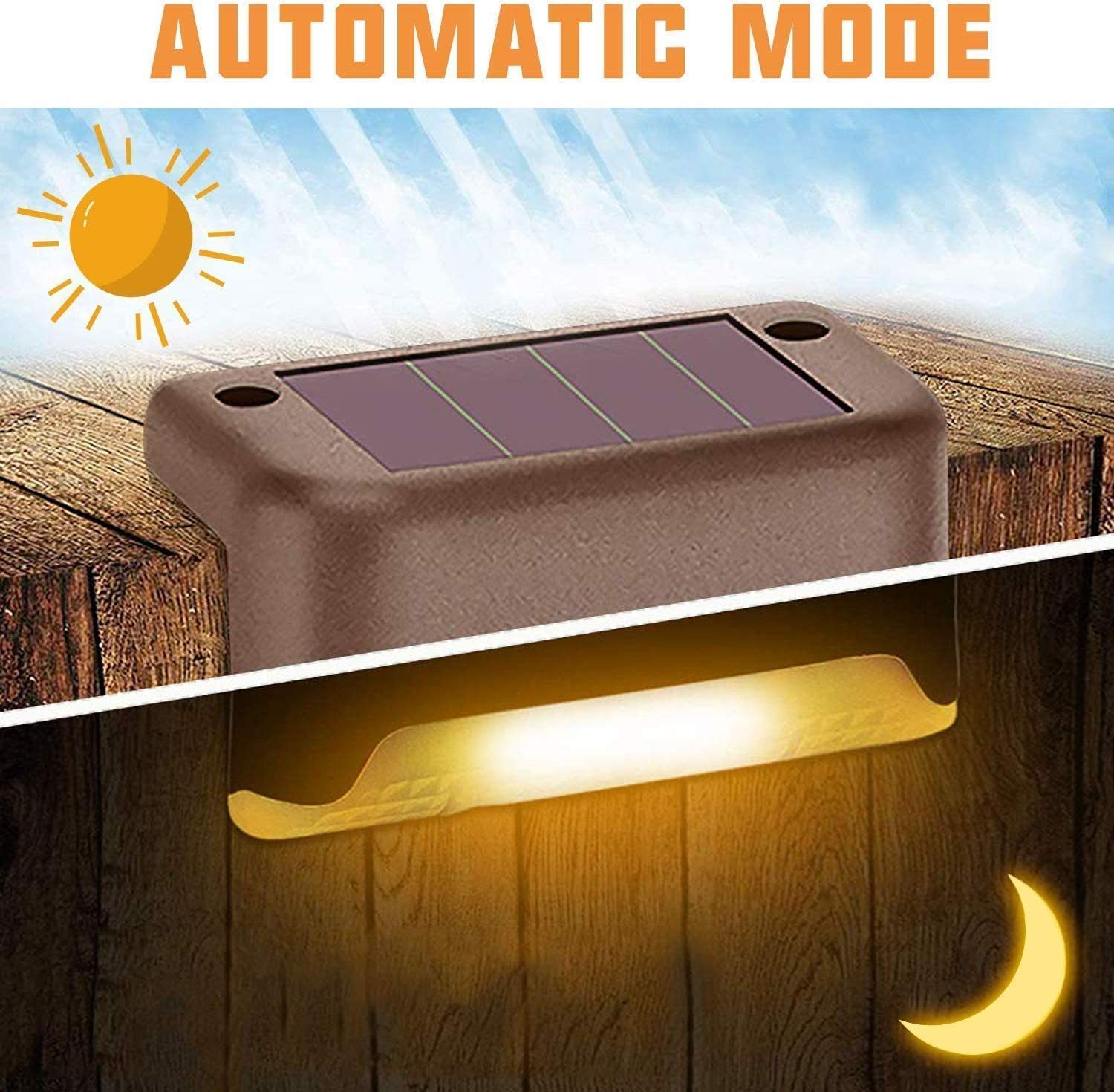 🔥 Waterproof Outdoor Solar Deck Lights(Only $4.99 BUY 15 GET 2 FREE & FREE SHIPPING(17PCS))