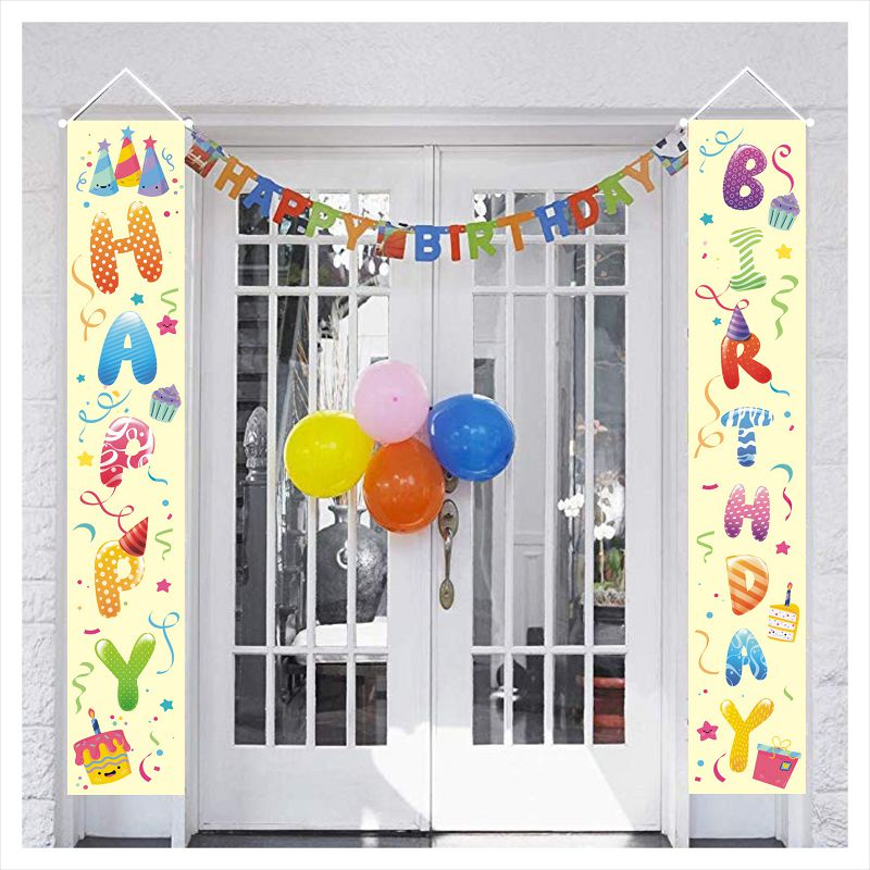 Christmas Sale! Porch Banner Decoration | Happy Birthday For Young
