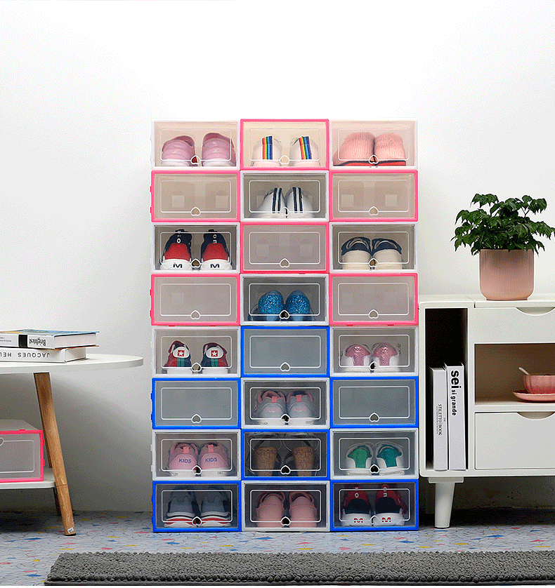 【BUY MORE SAVE MORE】New Drawer Type Shoe Box