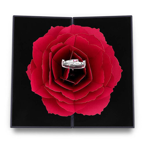 (❤️2021 Valentine's Day Promotion-48% OFF)Red Rose Ring Box(Buy 2 get free shipping)