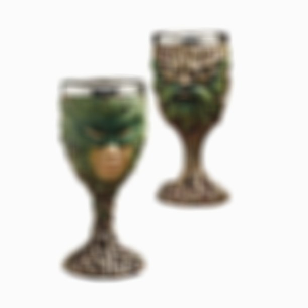 Forest Spirits Greenman Goblet Collection: Grendal the Green & Lady of the Leaf