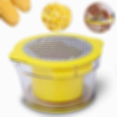 2019 Newest 4 In 1 Multifunction Cob Corn Stripper Kitchen Tools With Built-In Measuring Cup And Grater Droshipping