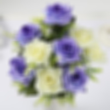 Artificial Flowers 1 Branch Classic Modern Roses Tulips Tabletop Flower