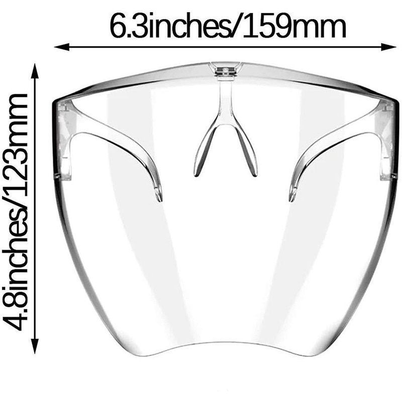 Face Shield with Glasses | 2020 New Advanced Design