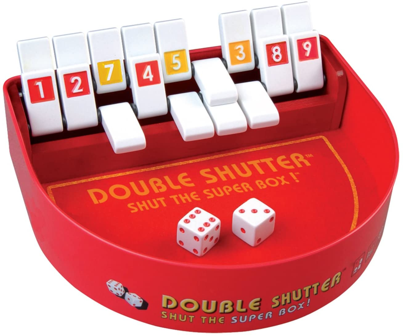 Double Shut The Box Dice Game