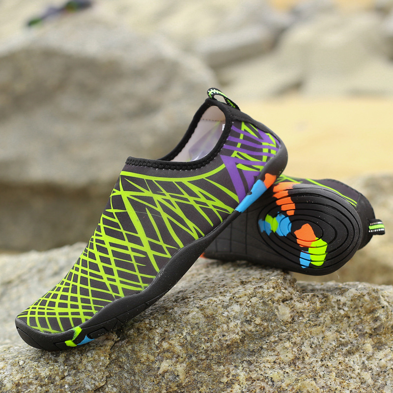 New Summer Outdoor Beach Barefoot Wading Shoes Quick-drying Shoes