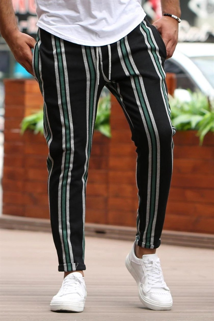 Striped Fashion Trousers