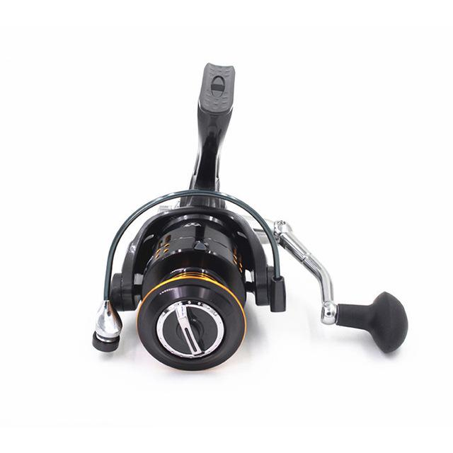 Metal Fishing Reel 12+1 Ball Bearings Big Trolling