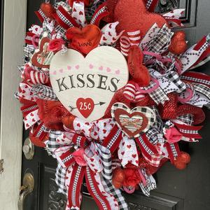 🔥 Valentine's Day Pre-Sale🔥 50% OFF 🔥 front door wreath