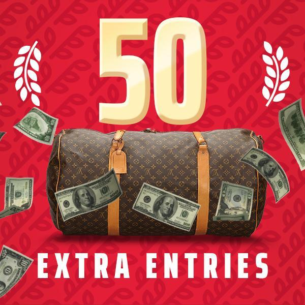 One-Time: $1,000,000 Cash Giveaway
