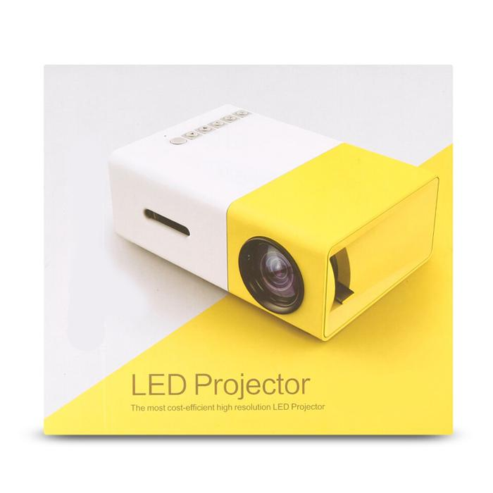 MINI HD PORTABLE PROJECTOR-FREE SHIPPING(This product is of American specification and can only be used in the United States.)