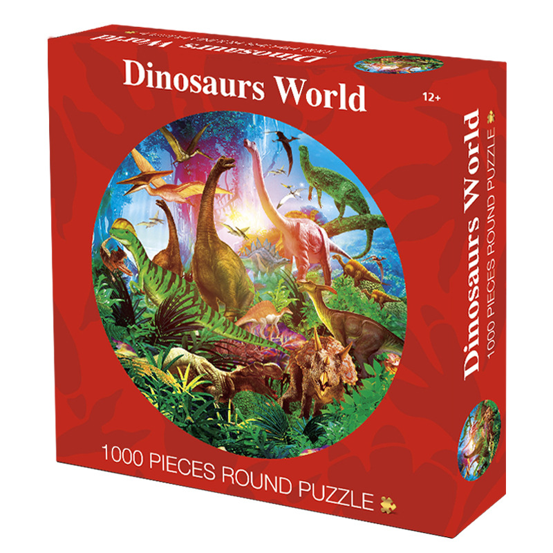 1000 Pieces Round Jigsaw Puzzles