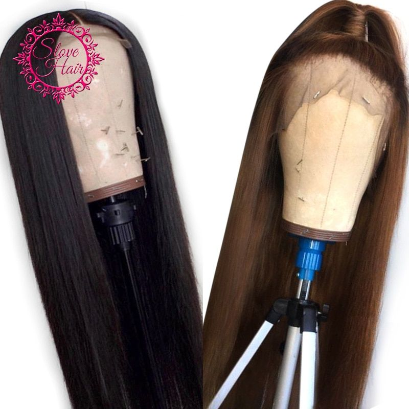 2020 New Straight Wigs Black Long Hair Medium Long Straight Hair Cheap Straight Bundles With Closure