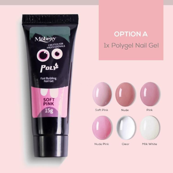 【On-Time Delivery】Mobray™ Easy PolyGel Nail Lengthening Kit