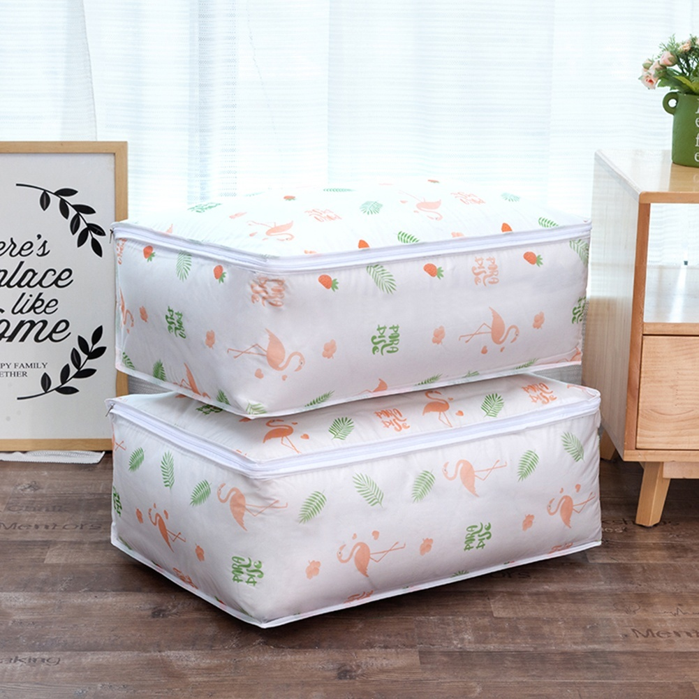 4 Types Washable Home Clothes Quilt Clothes Storage Bags Dustproof Household Containers