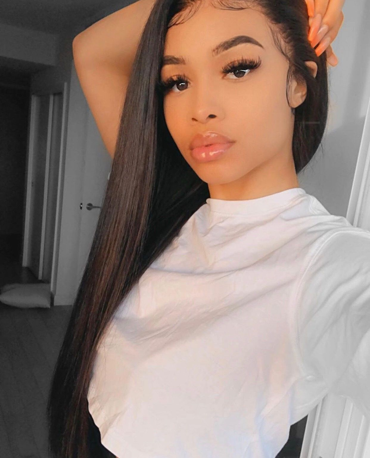 2020 New Straight Wigs Black Long Hair Luna Wigs For Black Women 30 Inch Wig Straight
