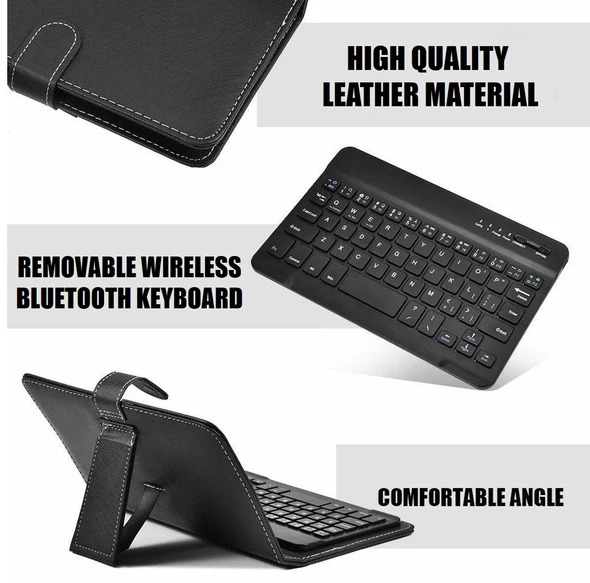 (🎅EARLY XMAS SALE - 50% OFF)Wireless Bluetooth Keyboard With Protective Cover & Buy 2 Free Shipping
