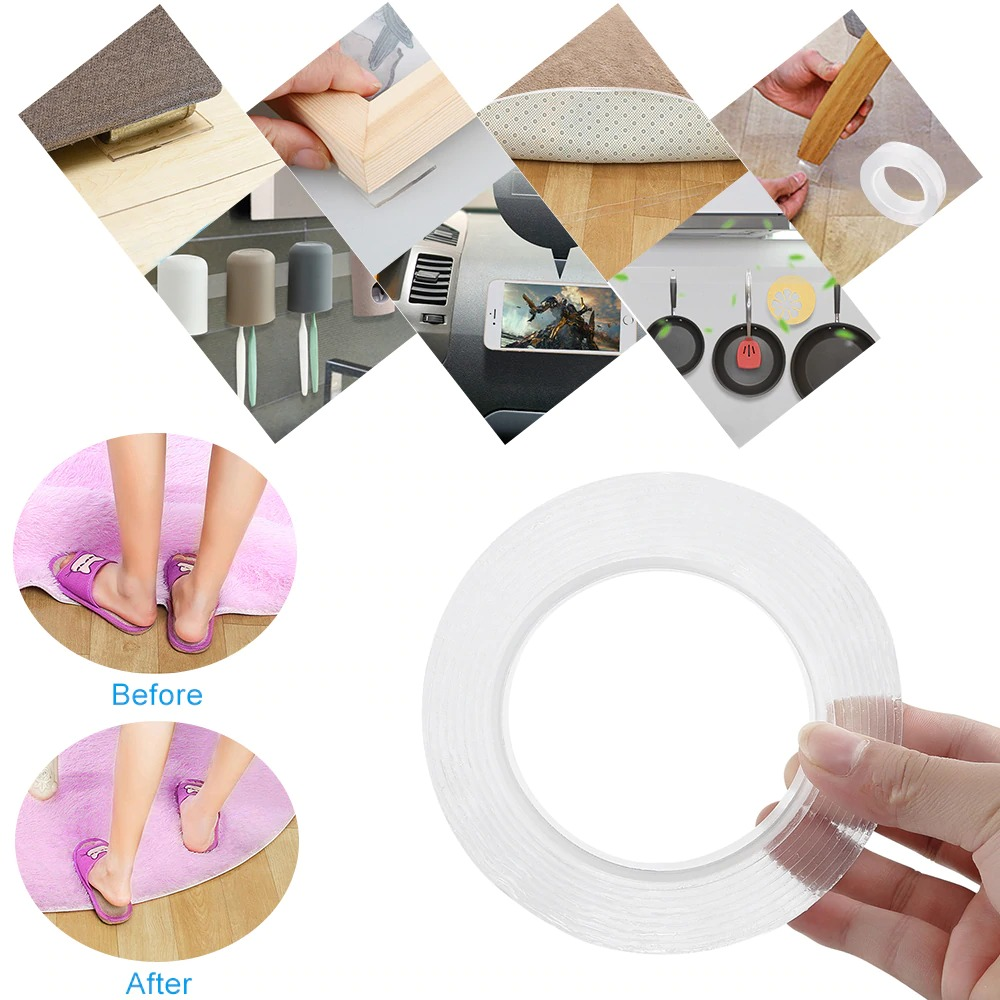 Multi-Function Nano Double-Sided Tape
