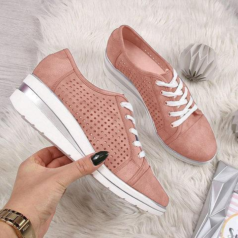 Higomore™ Spring Casual Women's Vintage Lace-Up Canvas Sneakers