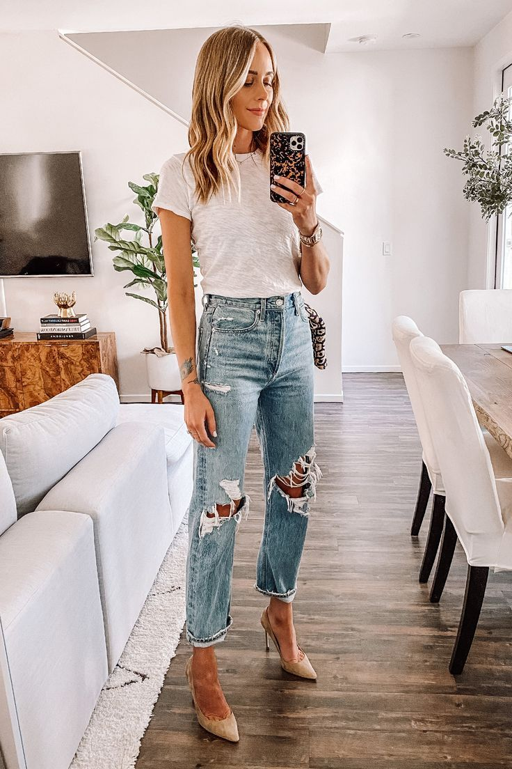 Jeans Outfit For Women Casual Wear Black Sweater Women Smart Casual Look For Ladies Black Khaki Pants Work Jeans Casual Looks 2018
