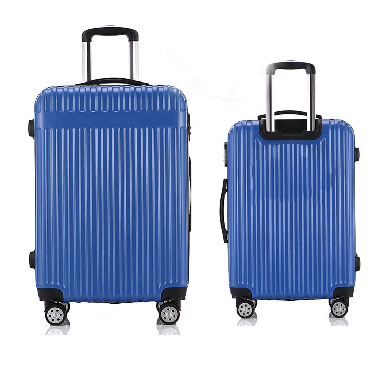 Newest design abs suitcase carry on trolley case luggage custom roller bag-1.9