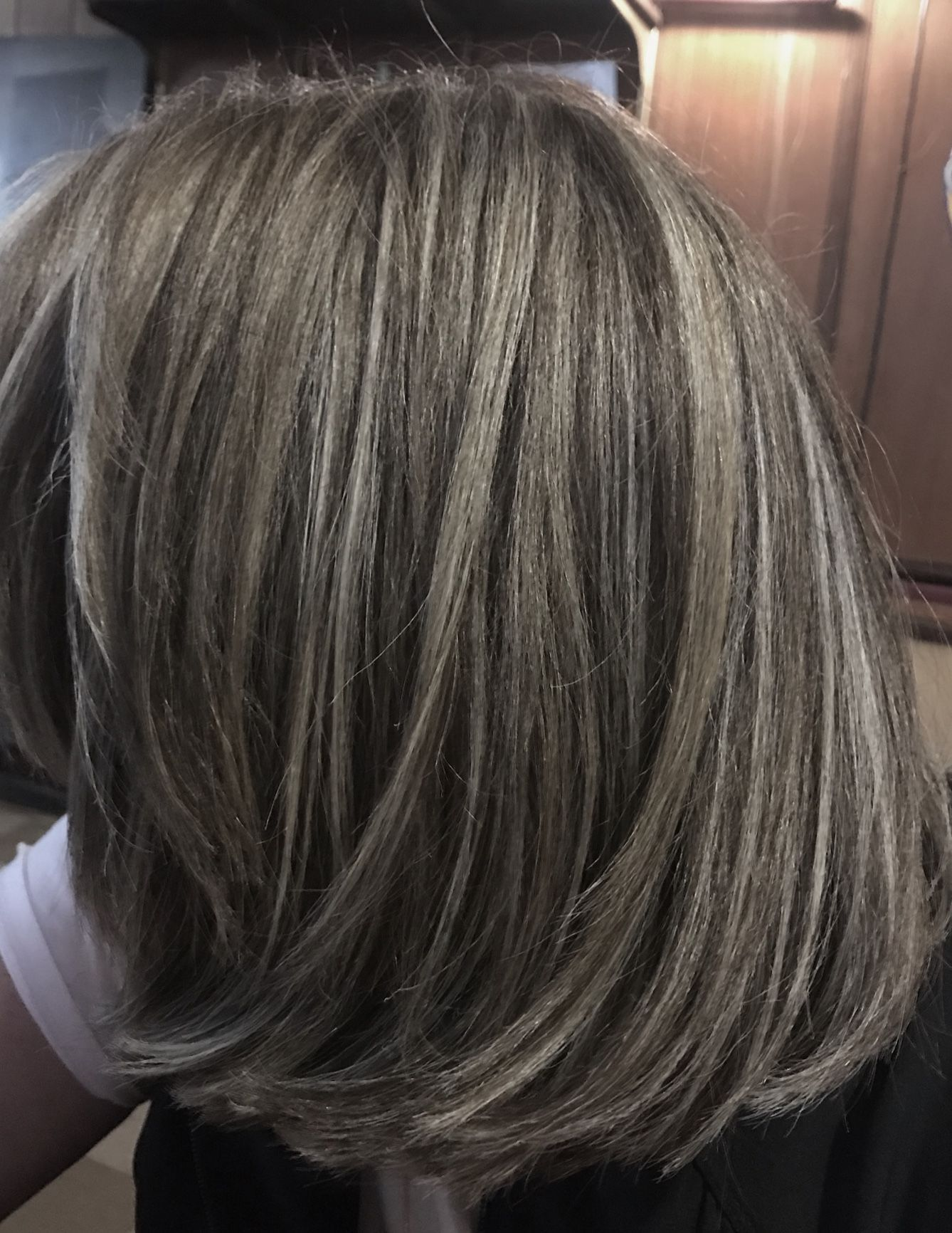 Gray Wigs Lace Frontal Wigs Curly Gray Hair WigsBest Way To Cover Gray Roots