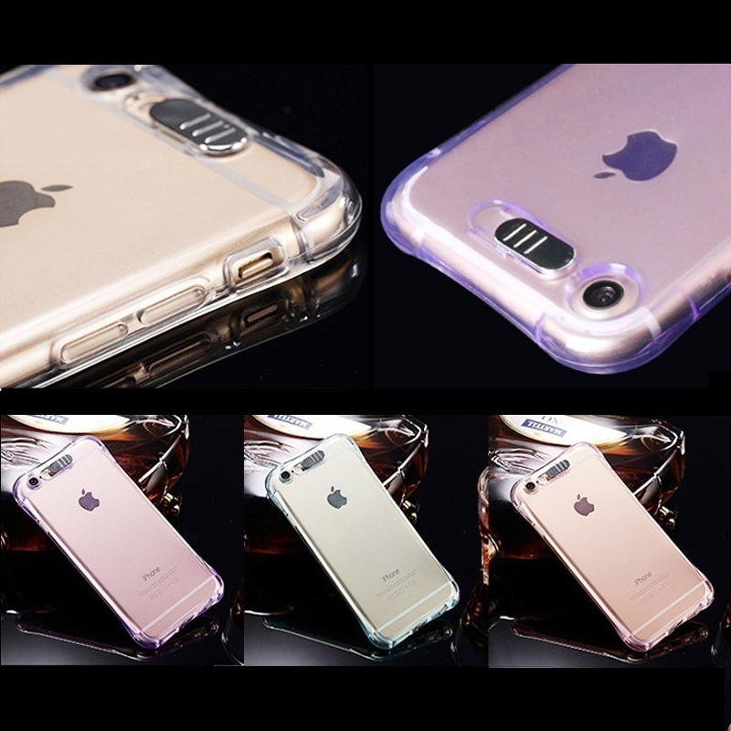 1pcs LED Shockproof Phone Case Call Flash Light TPU Clear Cover for iPhone 11 Pro Max X XR XS MAX 6 7 8 Plus Cellphone Cover