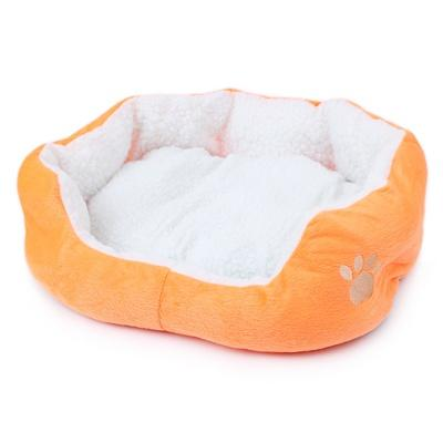 Super Cute Soft Cat Bed Winter House for Cat Warm Cotton Dog Pet Products Mini Puppy Pet Dog Bed Soft Comfortable
