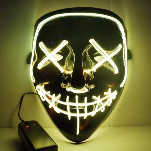 SKRTEN LED Mask for Festival Cosplay Costume
