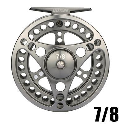 Large Arbor Fly Fishing Reel 2+1Bb 1:1 3/4 5/6 7/8 9/10 Wt Stainless Steel