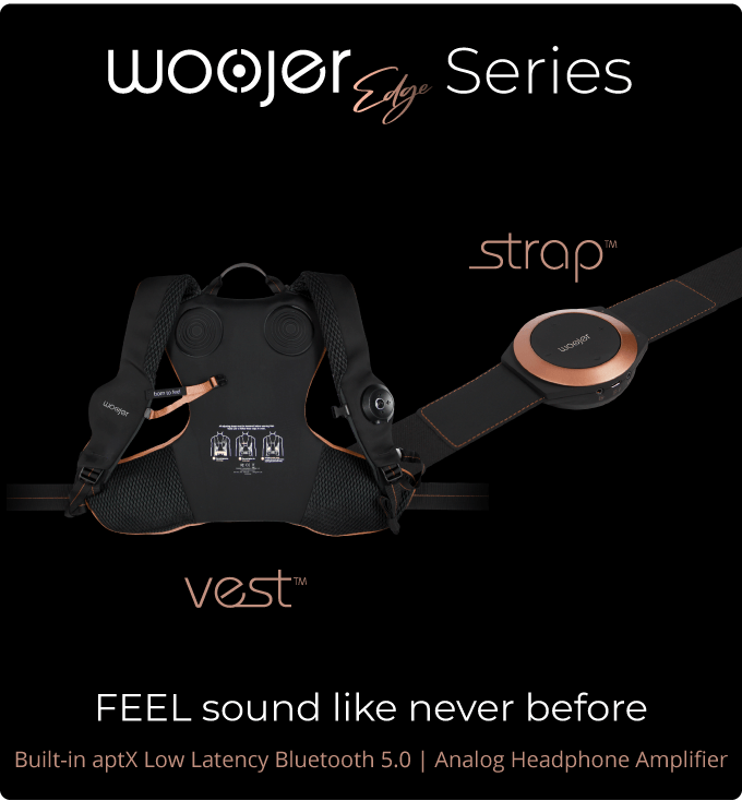 Woojer Edge -Provide A Fully Immersive Experience