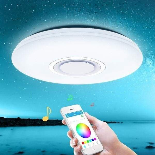 LED Ceiling Lights Smart Phone APP Remote Control Bluetooth Music Light RGB Dimmable Foyer kids Bedroom Starry Sky Effect Modern Ceiling Lamp 36W 60W