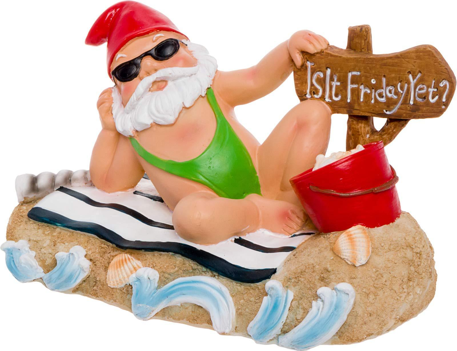 Is It Friday Yet? Garden Gnome