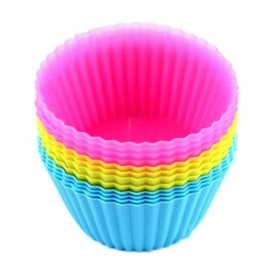 Mold soft silicone chocolate 12pcs muffins cup cake