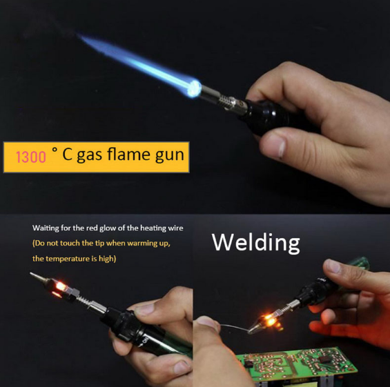 VA-100 Wireless Portable Butane Soldering Torch Welding Tools