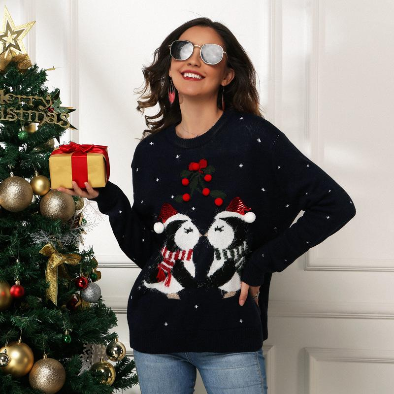 Little Penguin Christmas Ugly Sweater