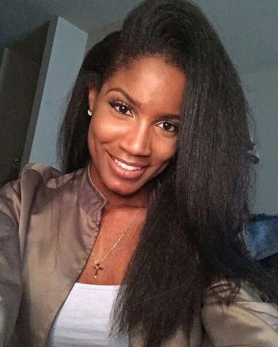 Straight Wigs Lace Front Yaki Wig Straight Perm Men 613 Bundle Hair Straight Quick Weave